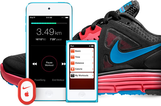 Invitación Antagonismo letra  What Happened to the Nike+ iPod App? – Muffy's Fitness Blog